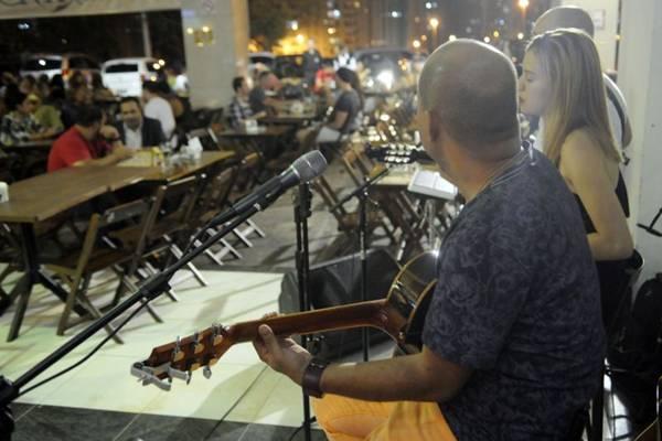 Novo endereço do Pirata's ampliou o leque de atrações musicais  (Bruno Peres/CB/D.A Press)
