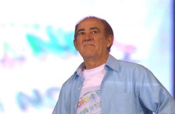 O humorista Renato Aragão no Criança Esperança (TV Globo/Zé Paulo Cardeal)