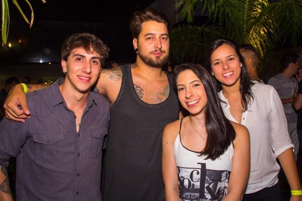 Marcus Fonseca, Pedro Ribeiro, Paola Gribel e Camila Wells (Romulo Juracy/Esp. CB/D.A Press)