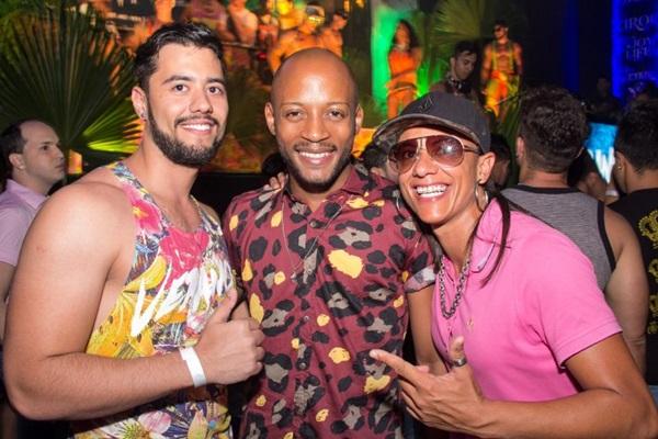 Guilherme Barros, Thiego Amorim e Renata de Andrade (Romulo Juracy/Esp. CB/D.A Press)