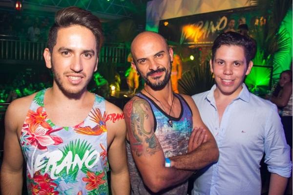Ismael Andrade, Itamar Moraes e Gabriel Gomes (Romulo Juracy/Esp. CB/D.A Press)