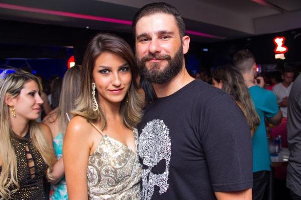 Luana Rossetto e Osvaldo Gabriel (Romulo Juracy/Esp. CB/D.A Press)