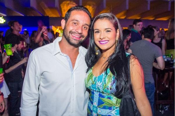 André Bello e Thayanne Araújo  (Romulo Juracy/Esp. CB/D.A Press)