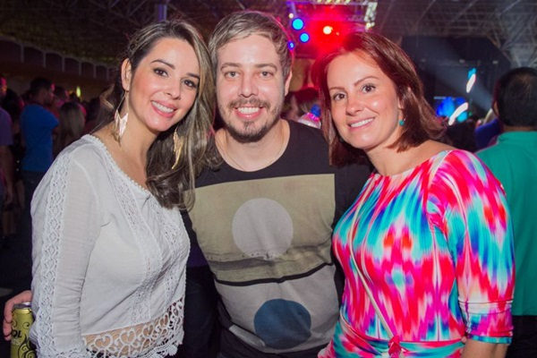 Mirele Lima, Carlos Andrade e Juliana Sarmento  (Romulo Juracy/Esp. CB/D.A Press)