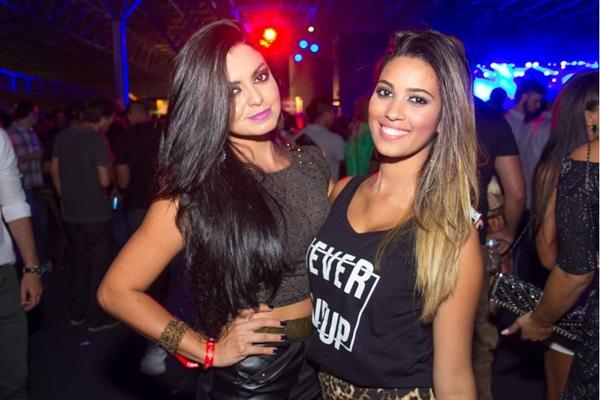 Naiara Santana e Mayara Santos (Romulo Juracy/Esp. CB/D.A Press)