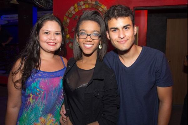 Yasmine Macedo, Eliane Pereira e Mateus Albuquerque ( Romulo Juracy/Esp.CB/D.A Press)