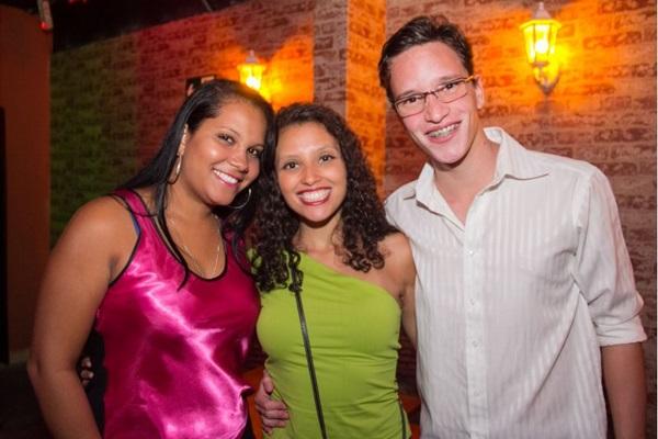 Ana Lúcia Silva, Mariana Araújo e Igor Cavalcante ( Romulo Juracy/Esp.CB/D.A Press)
