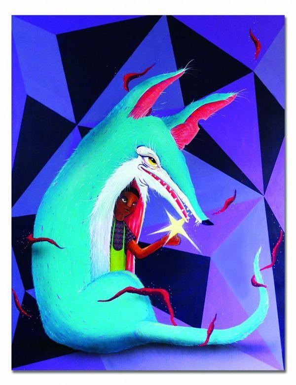 Obra do artista brasiliense Thales Fernando (POMB/Reprodução)