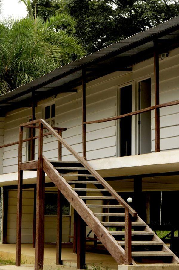 Primeira residência de JK no Planalto, o Catetinho recria a atmosfera da década de 1960 (Carlos Vieira)