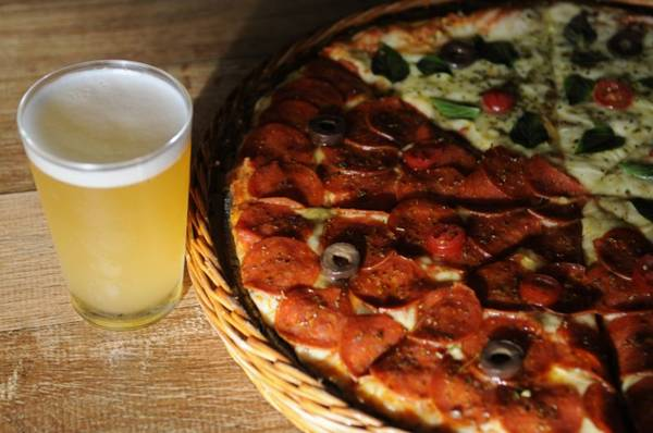 Entre Amigos: parceria entre um mestre cervejeiro e um chef desponta no Quituart (Bruno Peres/CB/D.A Press)