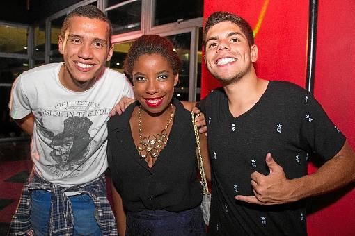 Iury Lobato, Sandriele Fernandes e Vitor Fonseca (Rômulo Juracy/Esp. CB/D.A Press)