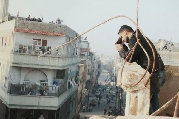 Cena do filme Return to Homs, em exibição no canal Sundance  (Ventana Films/Divulgação)