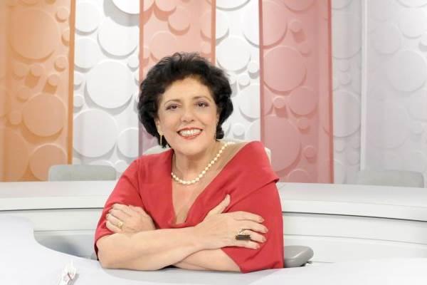 Apresentadora Leda Nagle, em seu programa Sem Censura.  (Ana Paula Migliari/TV Brasil)