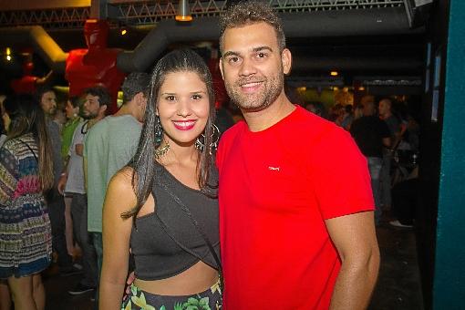 Gabriela Fortes e Fellipe Rezende (Rômulo Juracy/Esp. CB/D.A. Press)
