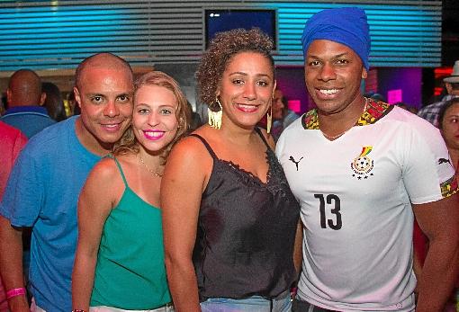 Igor Baima, Ana Clara Rezende, Grazielle Diniz e Danilo Willian (Rômulo Juracy/Esp. CB/D.A. Press)