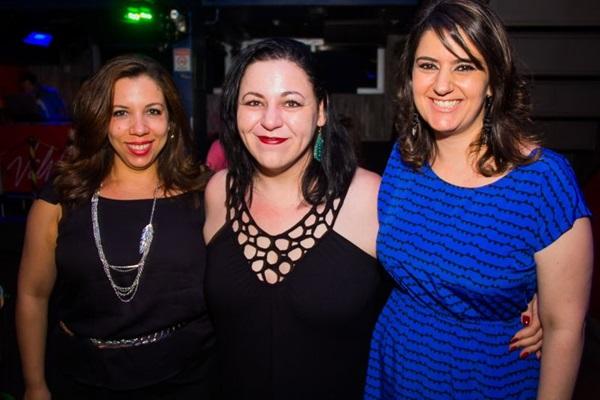 Nathália Caroline, Sandy Menezes e Luiza França (Rômulo Juracy/Esp. CB/D.A Press)
