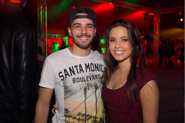 Paulo Santos e Salisa Barbosa ( Romulo Juracy/Esp. CB/D.A Press)