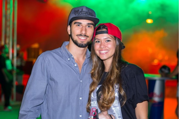 Gabriel Miranda e Luiza Mello ( Romulo Juracy/Esp. CB/D.A Press)