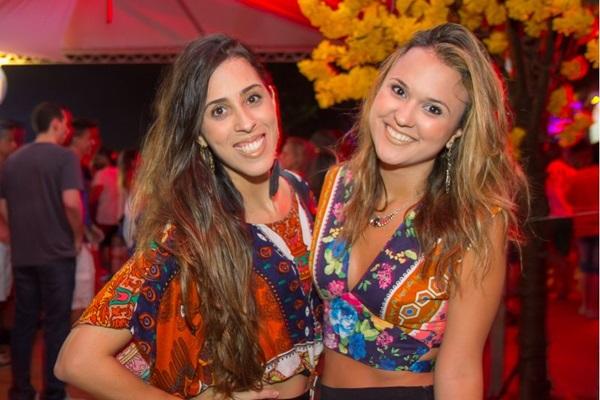 Camila Doyle e Raíssa Castro  (Romulo Juracy/Esp. CB/D.A Press)