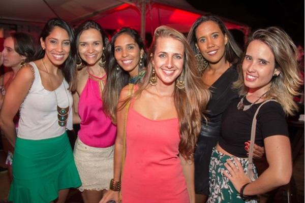 Luiza Medeiros, Stefânia Fernandes, Luma Araújo, Clara Toledo, Rafaela Lima e Juliana Cavalhares  (Romulo Juracy/Esp. CB/D.A Press)