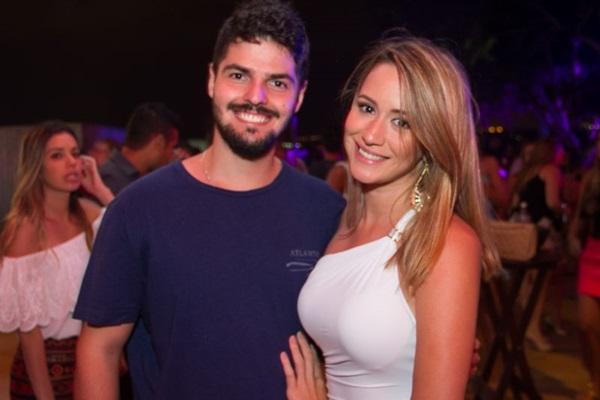 Felipe Martino e Bárbara Andrade (Romulo Juracy/Esp. CB/D.A Press)
