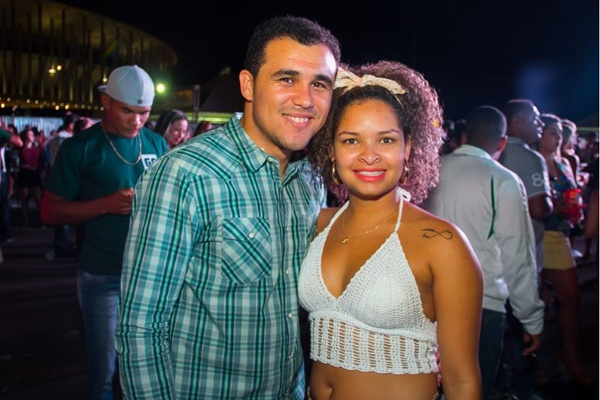 Adriano Paiva e Franciele Sabina (Rômulo Juracy/Esp. CB/D.A Press)