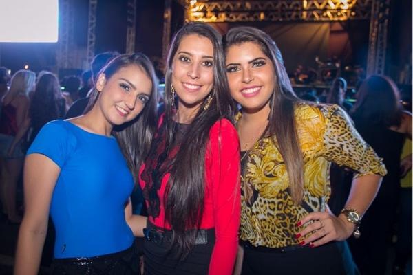 Amanda Kalácia, Carol Lopes e Bárbara Fernandes (Rômulo Juracy/Esp. CB/D.A Press)