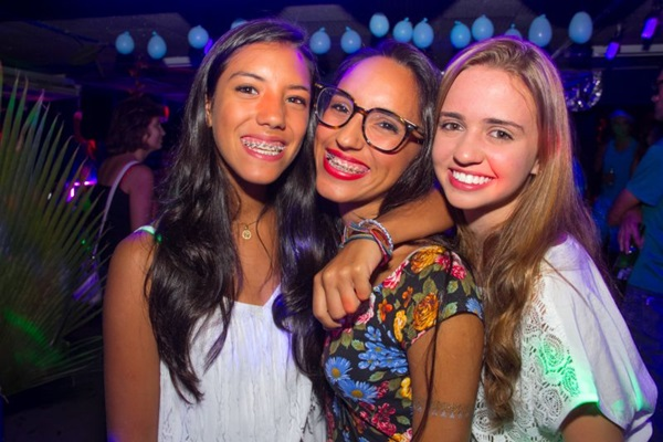Ana Clara Araújo, Maria Luiza Naves e Nathália Peres (Romulo Juracy/Esp.CB/D.A Press)