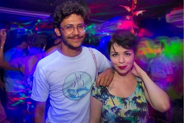 Guilherme Vargas e Sarah Hericy (Romulo Juracy/Esp.CB/D.A Press)