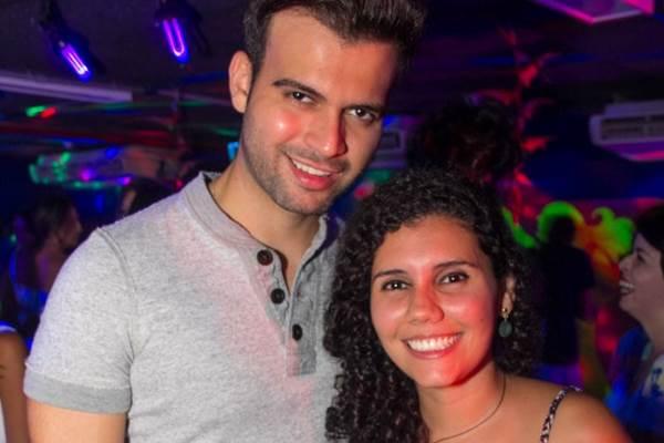 Pedro Henrique e Camila Braga (Romulo Juracy/Esp.CB/D.A Press)