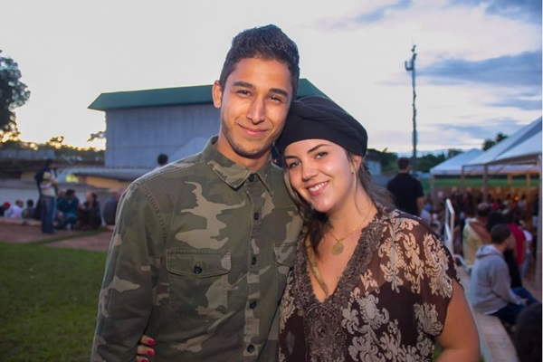Lucas Meira e Daiane Dourado (Romulo Juracy/Esp. CB/D.A Press)