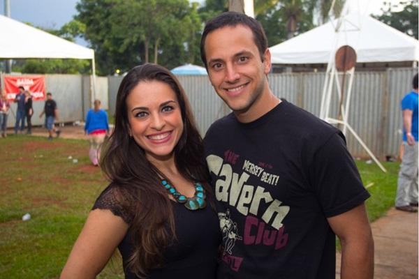 Vanessa Casalinho e Roberto Peternelli (Romulo Juracy/Esp. CB/D.A Press)