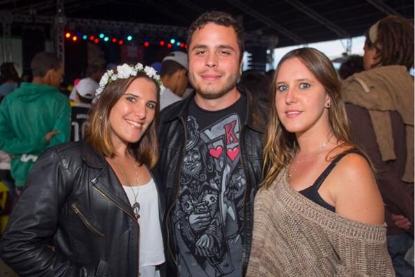 Priscila de Andrade, Ronan Lucas e Cristiane de Andrade (Romulo Juracy/Esp. CB/D.A Press)