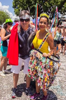 Arnaldo de Campos e Gabriele Andrade ( Romulo Juracy/Esp. CB/D.A Press)