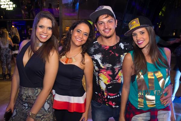Milena Dias, Geovana Barbosa, Vinicius Postai e Pollyanna Oliveira (Rômulo Juracy/Esp. CB/D.A Press)
