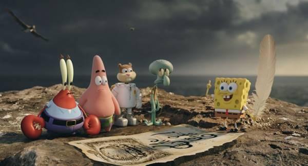 Bob Esponja viaja no tempo em nova aventura (Paramount Pictures/Divulgação)