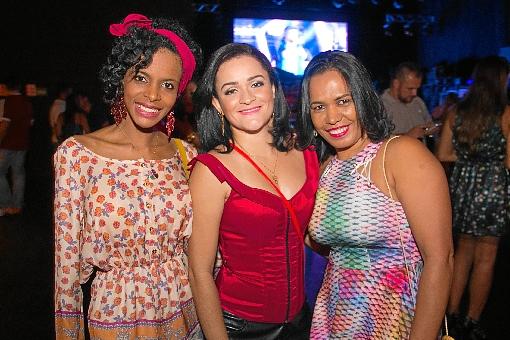 Andreia Pereira, Luciana Soares e Zenilde Ruas (Rômulo Juracy/Esp. CB/D.A Press)