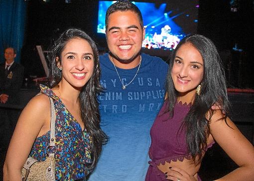 Letícia Mesquita, Guilherme Veloso e Natália Nasser (Rômulo Juracy/Esp. CB/D.A Press)
