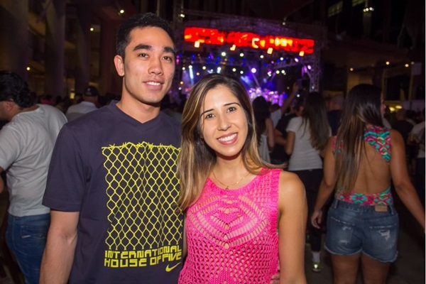 Célio Ken-Iesi e Gabriela Moreira (Romulo Juracy/Esp. CB/D.A Press)