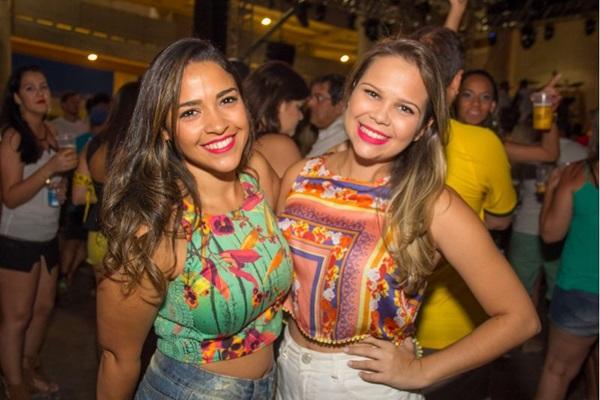 Klarissa Oliveira e Mariana Brito (Romulo Juracy/Esp. CB/D.A Press)