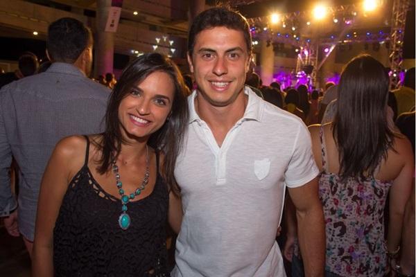 Natália Miranda e Fábio Melo (Romulo Juracy/Esp. CB/D.A Press)