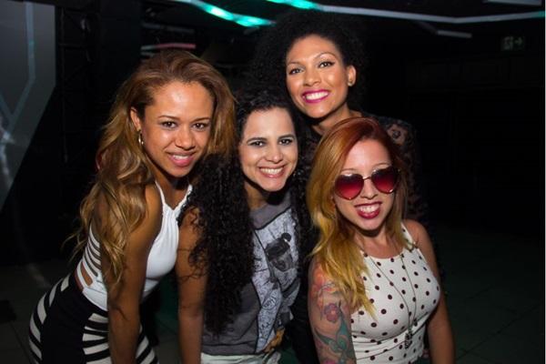 Daiany Cristiny, Nivalda Nascimento, Poliana Guimarães e Camila Ferreira (Romulo Juracy/Esp. CB/D.A Press)