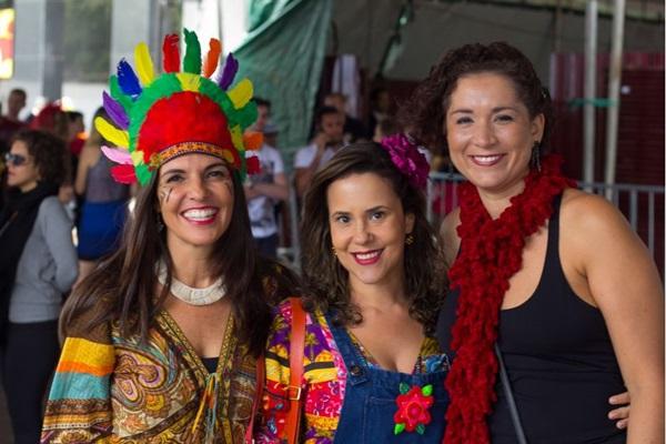 Flávia Agra, Luciana Moreira e Renata Monteiro  (Romulo Juracy/Esp. CB/D.A Press)