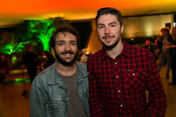 Eduardo Ganassin e Bruno Lopes (Gilberto Evangelista/Divulgação)