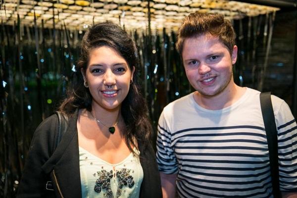 Priscilla Maciel e Vinícius Vieira (Gilberto Evangelista/Divulgação)