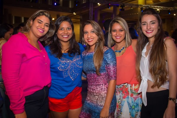 Giulia Figueiredo, Ana Luiza Campos, Lethicia Araruna, Rayssa Soares e Ana Clara Gomide (Romulo Juracy/Esp. CB/D.A Press)