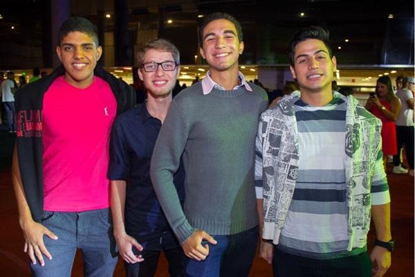 Luis Eduardo Lima, Bismark Cotrim, Andrew Luiz e Franco Isaac (Romulo Juracy/Esp. CB/D.A Press)