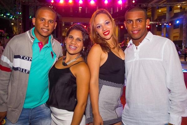 Wesley Almeida, Jéssica Abranches, Karla Medeiros e Marivaldo Pereira (Romulo Juracy/Esp. CB/D.A Press)