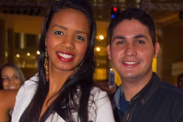 Gislaine Santos e Felipe Augusto (Romulo Juracy/Esp. CB/D.A Press)