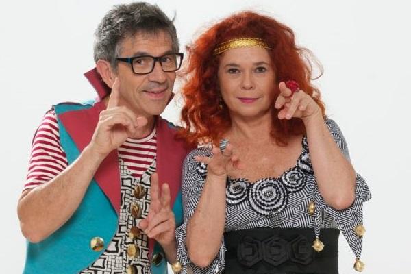Paulo Tatit e Sandra Peres apresentarão faixas como Pé com pé, Sopa e Criança não trabalha  ( Palavra Cantada/Divulgação)
